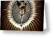 Rustic Regalia Greeting Card
