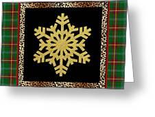 Rustic Snowflake-jp3692 Greeting Card