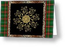 Rustic Snowflake-jp3694 Greeting Card