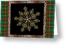 Rustic Snowflake-jp3696 Greeting Card