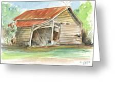 Rustic Southern Barn Greeting Card