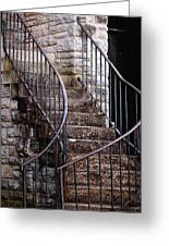 Rustic Staircase Greeting Card