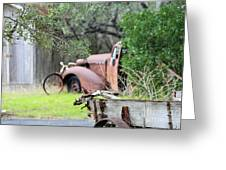 Rustic Truck Greeting Card