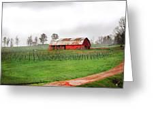 Rustic Wine Greeting Card