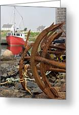 Rusty Anchors Greeting Card