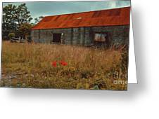 Rusty Barn Greeting Card
