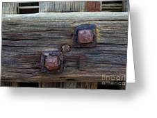 Rusty Bolts #2 Greeting Card