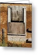 Rusty Building Greeting Card