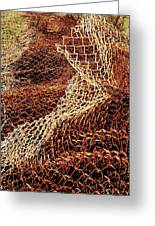 Rusty Chain Link Greeting Card