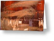 Rusty Container Greeting Card