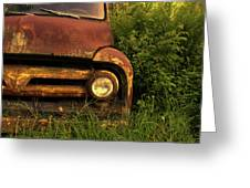 Rusty Gold  Greeting Card