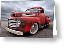 Rusty Jewel - 1948 Ford Greeting Card