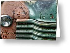 Rusty Old Beauty Greeting Card