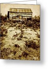 Rusty Rural Ramshackle Greeting Card
