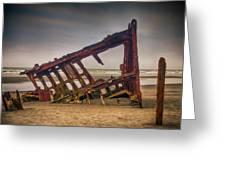 Rusty Shipwreck Greeting Card