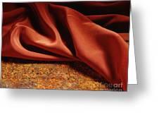 Rusty Silk Greeting Card