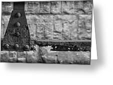 Rusty Steel Bridge Greeting Card