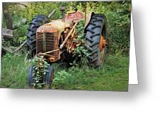 Rusty Tractor 3  Greeting Card