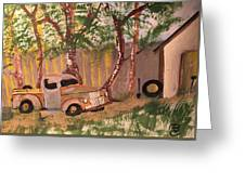 Rusty Truck Greeting Card