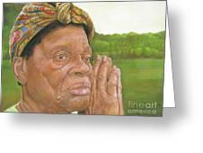Ruth II Greeting Card