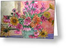 Ruth's Bouquet Greeting Card