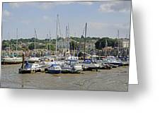 Ryde Harbour Greeting Card