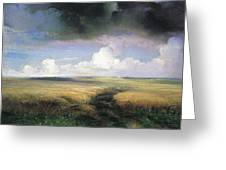 Rye 1 1881 Alexey Kondratievich Savrasov Greeting Card