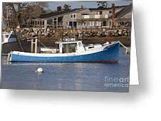 Rye Harbor - Rye New Hampshire Usa Greeting Card