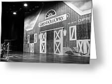 Ryman Opry Stage Greeting Card