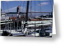 S. Street Seaport Greeting Card