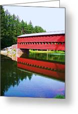 Sachs Bridge Greeting Card