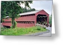 Sachs Covered Bridge  Greeting Card