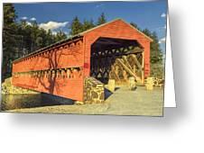 Sachs Covered Bridge Square Greeting Card