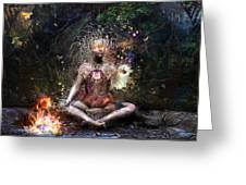 Sacrament For The Sacred Dreamers Greeting Card