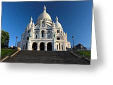 Sacre Coeur Montmartre Paris Greeting Card