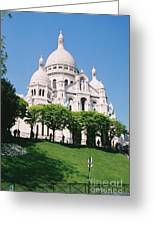 Sacre Coeur Greeting Card