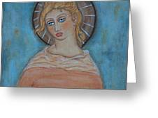 Sacred Angel Greeting Card