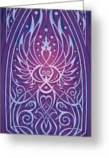 Sacred Feminine Greeting Card by Cristina McAllister