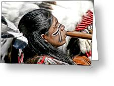 Sacred Flute Greeting Card