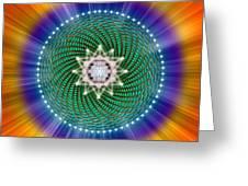 Sacred Geometry 102 Greeting Card