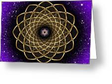 Sacred Geometry 473 Greeting Card