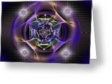 Sacred Geometry 554 Greeting Card