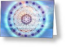 Sacred Geometry 564 Greeting Card