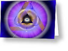 Sacred Geometry 642 Greeting Card
