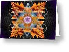 Sacred Geometry 701 Greeting Card