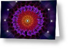 Sacred Geometry 81 Greeting Card