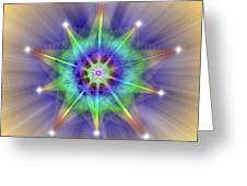 Sacred Geometry 83 Greeting Card