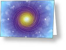 Sacred Geometry 84 Greeting Card
