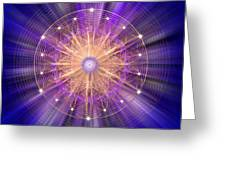 Sacred Geometry 94 Greeting Card