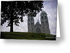 Sacred Heart Cathedral Newark New Jersey Greeting Card